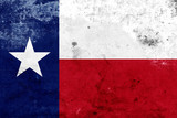 Grunge Texas State Flag