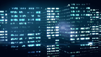 Night city. Abstract background