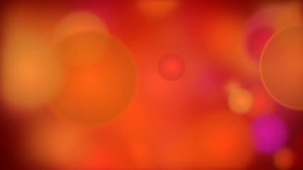 Bokeh particles background animation