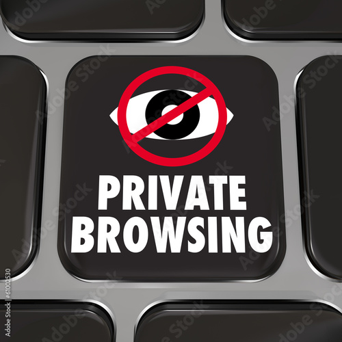 Private Browsing Internet Security Key Web Surfing Privacy