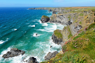 Pendarves Island at Bedruthan Steps