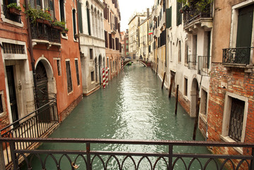 A canal of Venezia, Italy
