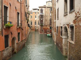 A Venetian canal, Italy
