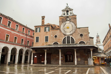 Church of San Giacomo inVenezia, Italy