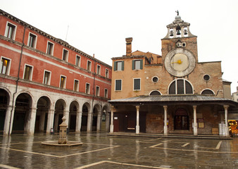 Church of San Giacomo in Venezia, Italy