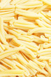 background of casarecce pasta