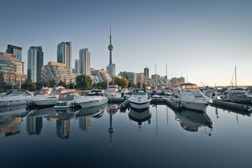 Yacht Club in downtown Toronto