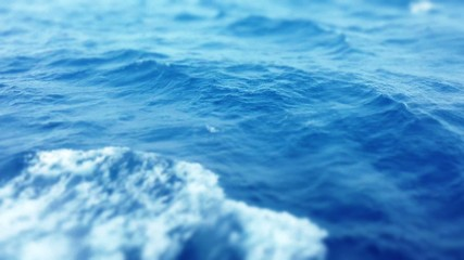 Sea surface, background, copy space