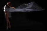 Movement With Sheer Fabrics and Long Exposure