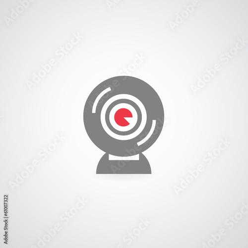 web camera symbol