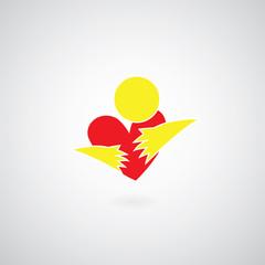 hug symbol