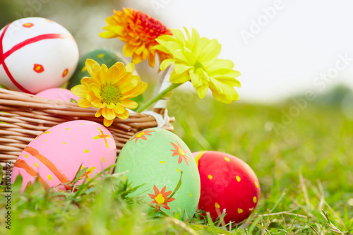 Eggs and flowers b
