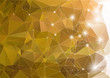 Abstract green shiny background polygon