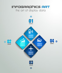 Modern Infographics template for data visualizations.