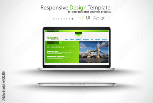Modern devices mockups fpr your business projects.