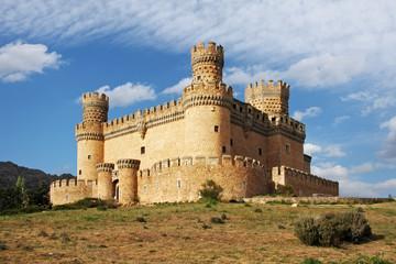 Old Castle in Span - Manzanares