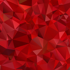 Abstract red background polygon