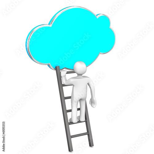 Cloud Ladder Manikin