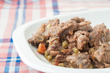 boar stew