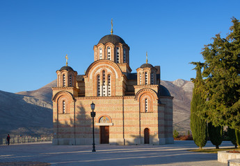 Church of the Annunciation. Trebinje, Bosnia and Herzegovina