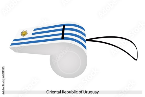 A Whistle of Oriental Republic of Uruguay