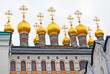 Terem churches. Moscow Kremlin. UNESCO heritage.