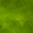 Green abstract background polygon