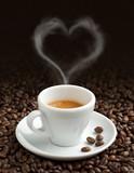 Fototapety love for coffee