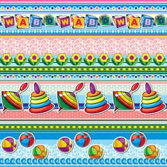 toys seamless background