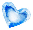 heart from ice