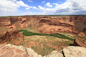 canyon de Chelly, south rim, Arizona