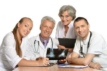 Doctors discussion