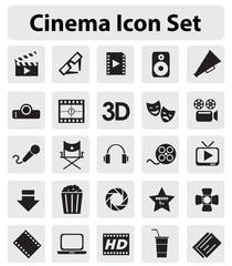 Cinmea icon set