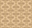 Floral pattern. Flower seamless background. Geometric texture
