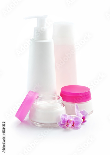 Cosmetic cream, lotion, face cream, makeup remover
