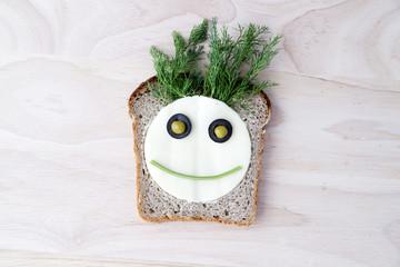 Sandwich for children