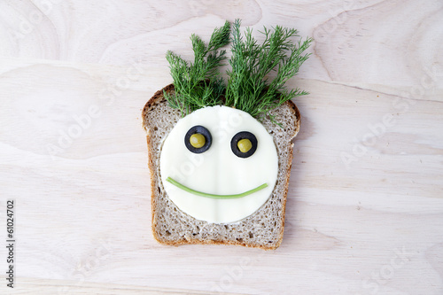 Sandwich for children