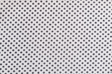 Black and white dotted fabric background