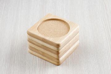 Wood place mat