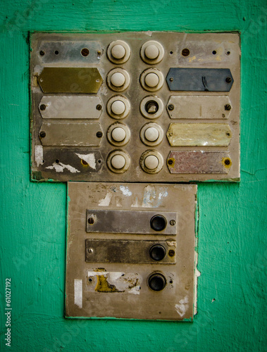 Rustic Apartment Intercom Buzzer