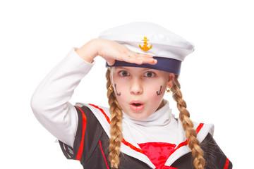 seagirl salutes