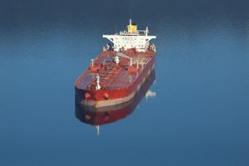 Burrard Inlet Oil Tanker, Vancouver