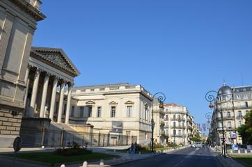 Ville de Montpellier en France