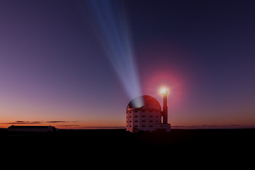 large telescope