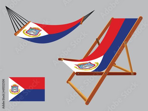 saint martin hammock and deck chair set