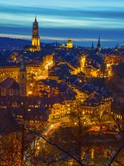 Bern bei Nacht