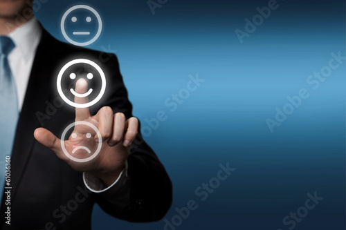 touchscreen - Umfrage Bewertung Beurteilung - 61036360