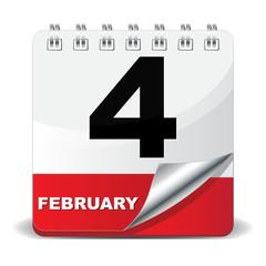 4 FEBRUARY ICON