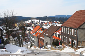 Winter in St. Andreasberg