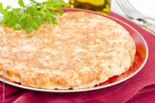 Spanish Tortilla - Traditional Spanish omelette with potatoes